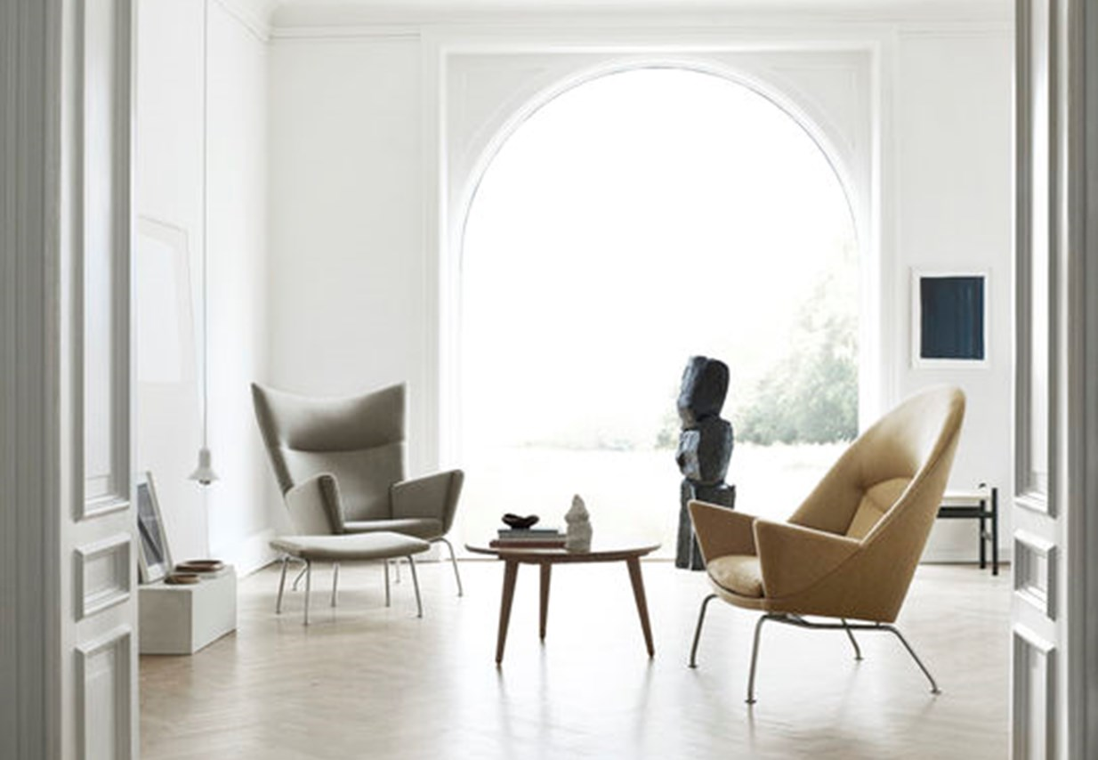 Hans J. Wegner Oculus & Wing Chair - A flair for form